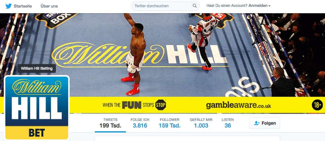 William Hill Social Media