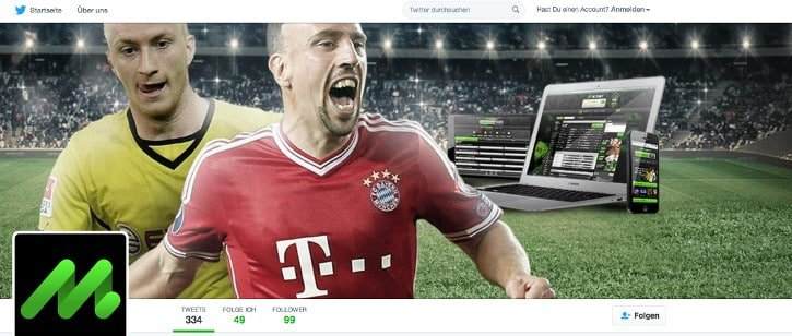 Mobilbet Twitter Account