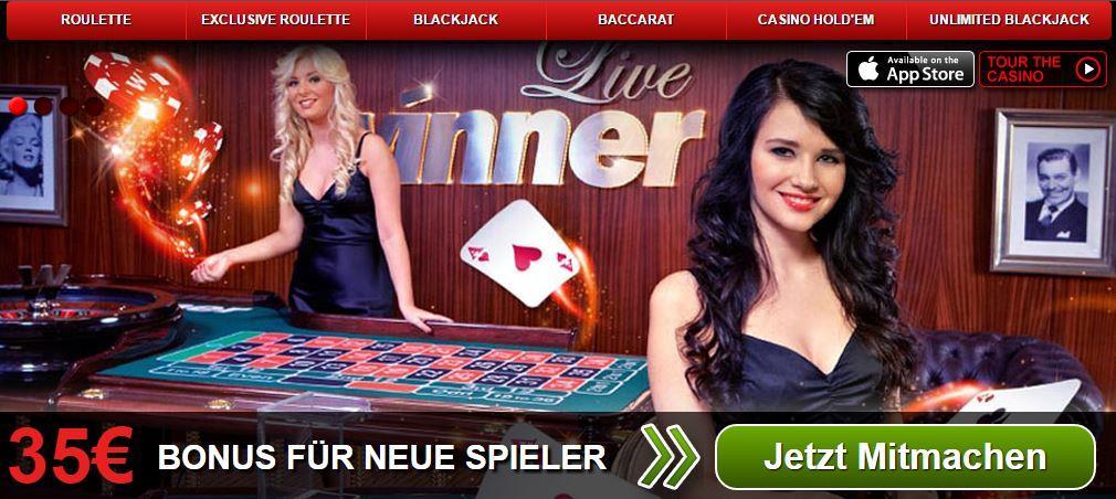 Winner Casino Live Casino