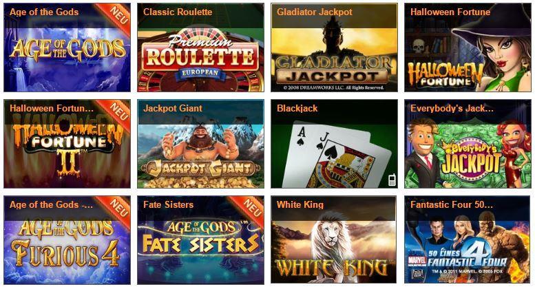 Winner Casino Erfahrungen Spieleangebot