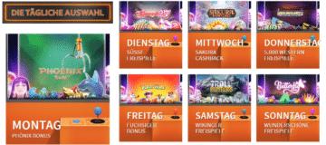 Betsson Casino tägliche Angebote