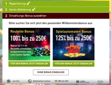 casinoclub_bonustake