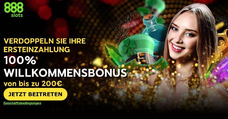 888slots Neukundenbonus
