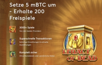Bitcasino Willkommensbonus