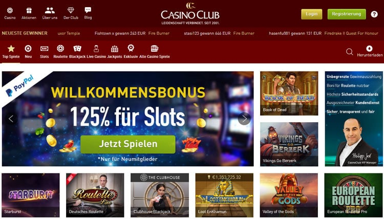 casinoclub-website