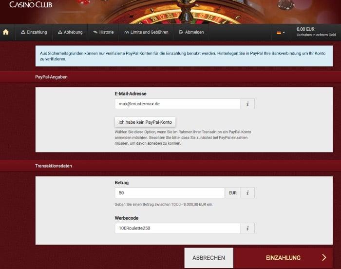 casinoclub_paypal_einzahlen