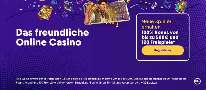 Casumo Casino Erfahrungen Willkommensbonus