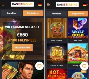 DasisCasino Mobile App