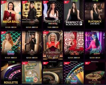 LV Bet Live Casino