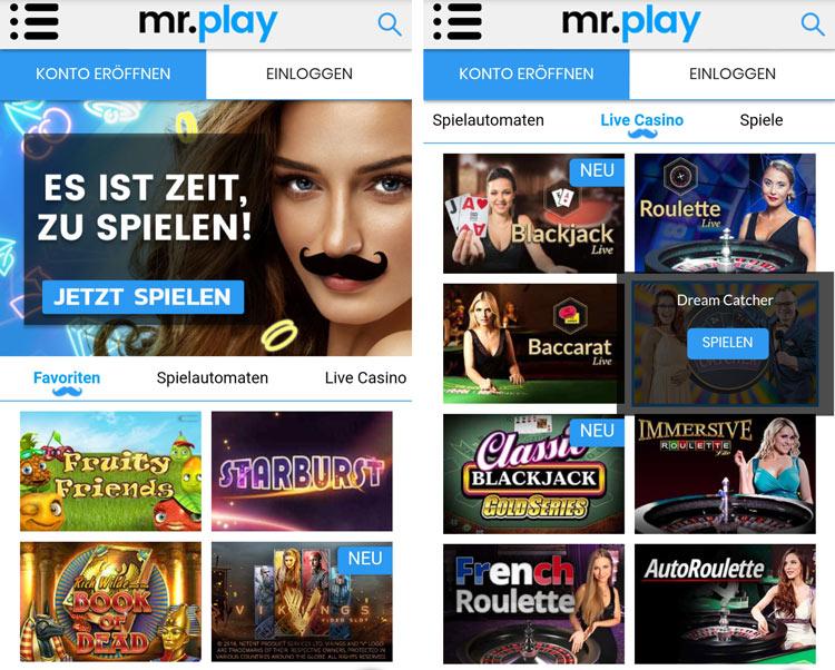 Mr Play App: dank Web-App lässt sich unterwegs problemlos spielen