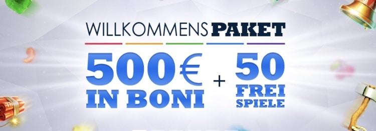 SlotsMillion Bonus Erfahrungen: bos zu 500€ + 50 Freispiele