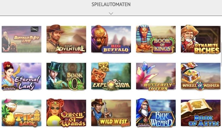 SlotsMillion Casino Spieleangebot: riesige Auswahl an Slots