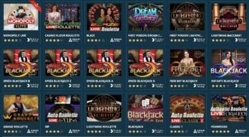Das Live Casino kann im Platincasino ebenfalls überzeugen: Mit dabei sind Spiele von Evolution Gaming, NetEnt und Authentic Gaming