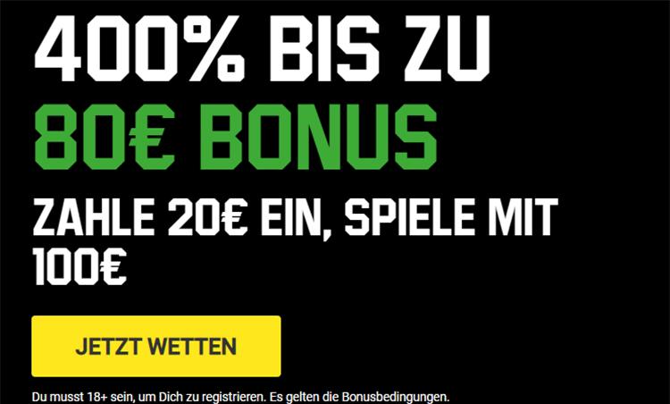 Unibet Sport Bonus