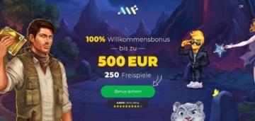 AlfCasino Bonus für Neukunden