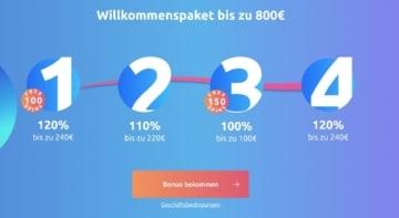 Cadoola Casino Bonus Erfahrungen: 800€ + 250 Free Spins