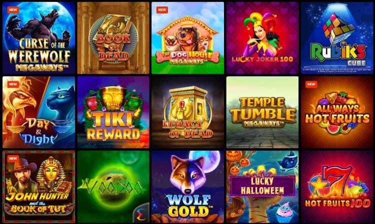 N1 Casino Spieleangebot