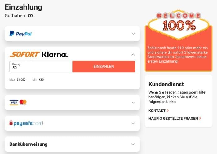 Online Casino Klarna Rechnung