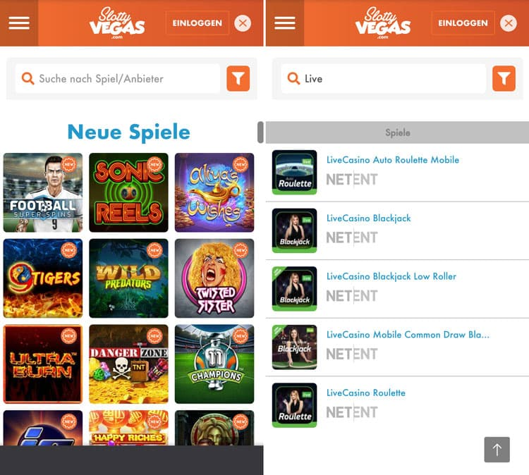 Slotty Vegas Casino Mobile image