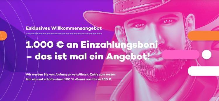21.com Willkommensbonus