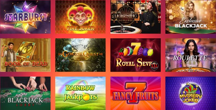 casinogods_spieleangebot