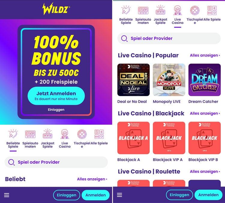 Wildz App