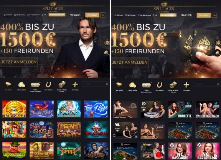 SplitAces Casino App