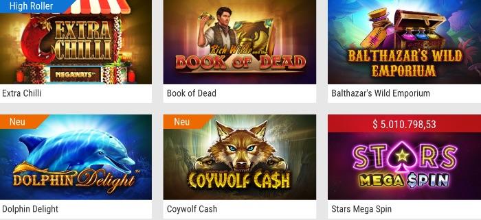 Das PokerStars Casino Spieleangebot enthält viele Klassiker