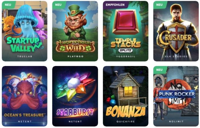 TrueFlip Casino Spieleauswahl: das Angebot überzeugt