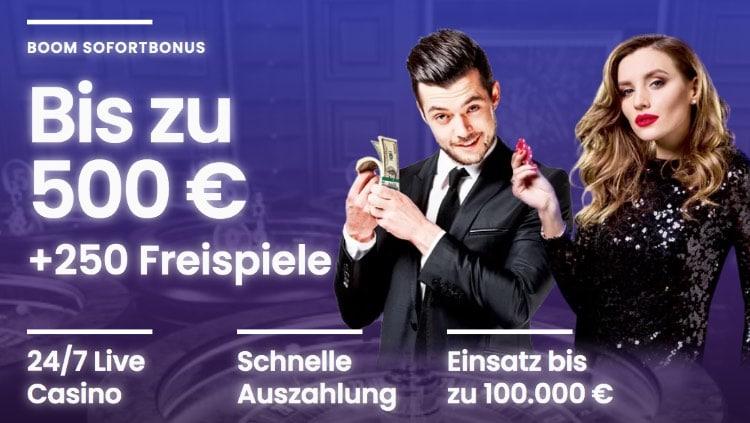 Boom Casino Bonus