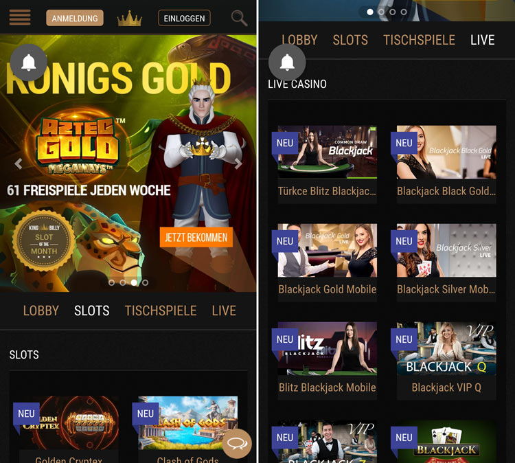 king-billy-casino-app
