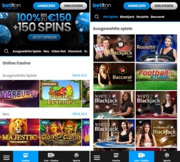 Betiton Casino App
