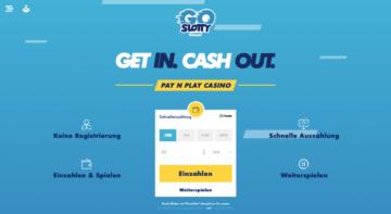 GoSlotty Casino Erfahrungen: keine Registrierung notwendig