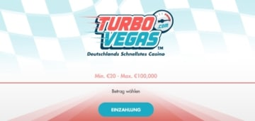 Turbovegas Casino Willkommensbonus