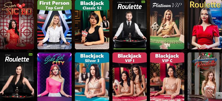 AmunRa Live Casino