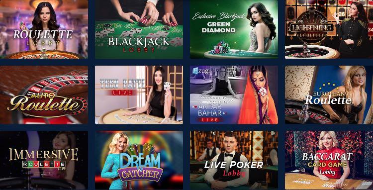 Casinoplanet Live Casino