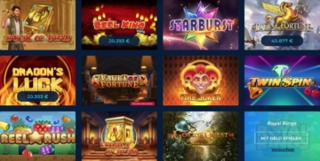 Casinoplanet Spiele