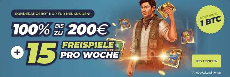 Casinoin Casino Willkommensbonus