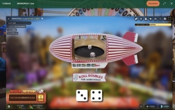 Mr Green Live Casino Monopoly