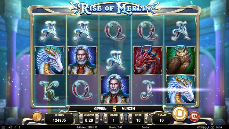Rise of Merlin Slot Erfahrungen
