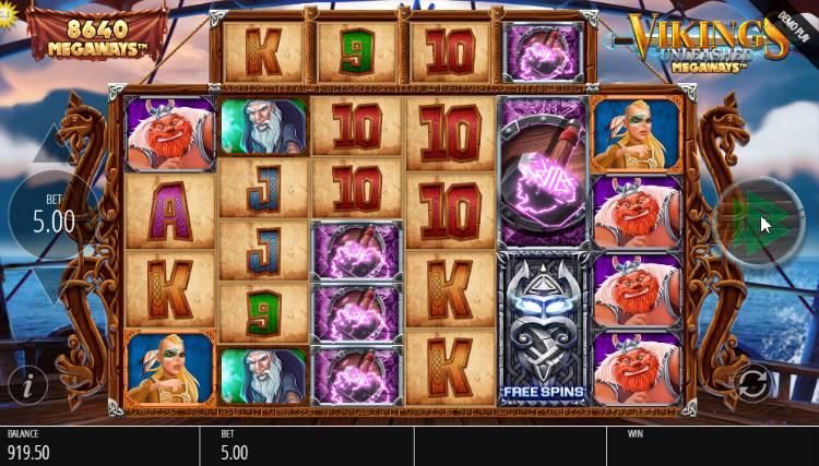 Vikings Unleashed Megaways Slot spielen