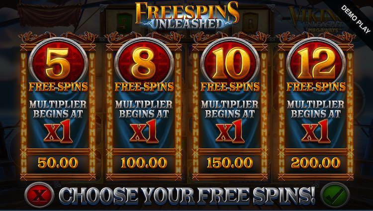 Vikings Unleashed Megaways™ Free Spins