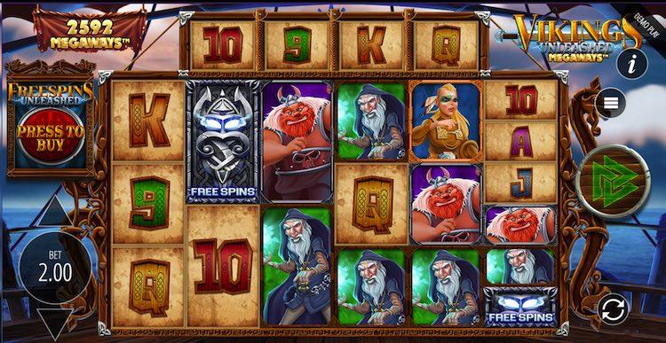 Vikings Unleashed Megaways™ Symbole
