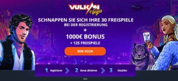 Vulkan Vegas Bonus für Neukunden