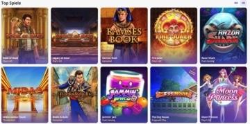 Casino Days Spiele