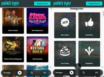 Pocket Play Mobile Casino