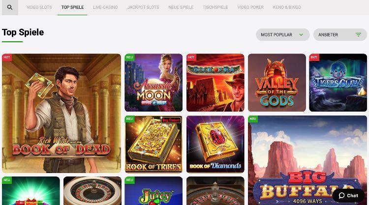 Zodiac Bet Spieleangebot