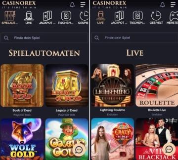 CasinoRex App