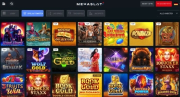 Megaslot Casino Webseite