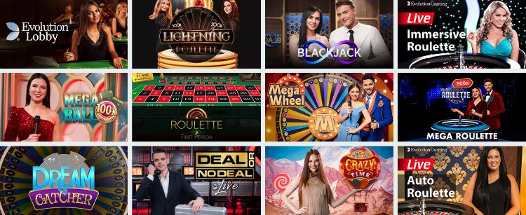 Cadabrus Live Casino